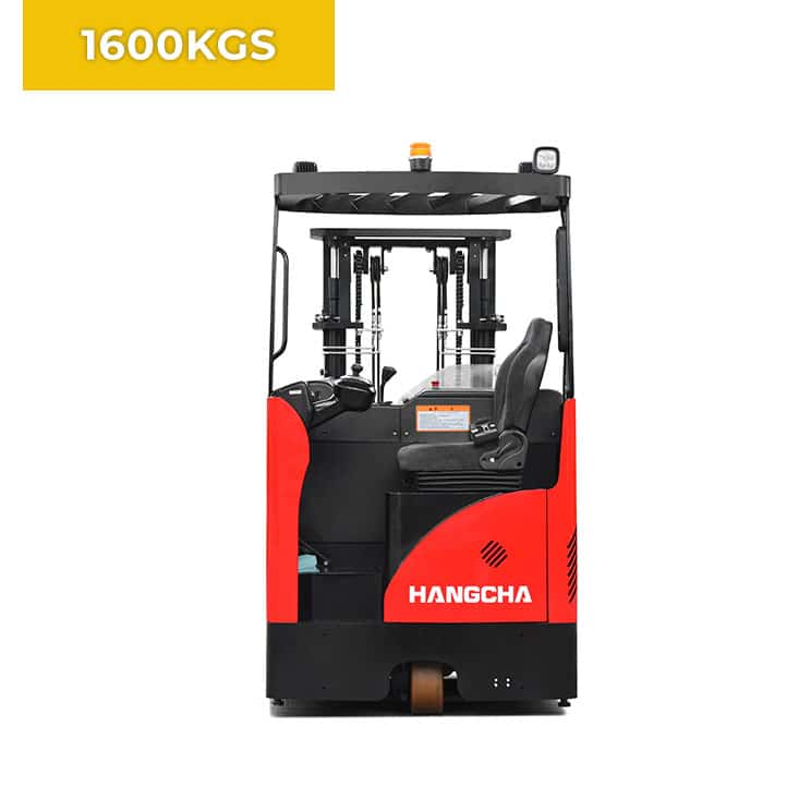 HC Forklifts 3 Wheel 1600KG Reach Truck