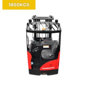 HC Forklifts 3 Wheel 1800KG Reach Truck