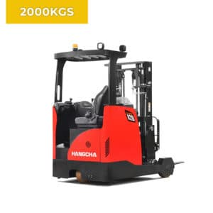 HC Forklifts 3 Wheel 2000KG Reach Truck