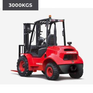 HC Forklifts 2 Wheel Rough Terrain 3000KG Forklift Truck