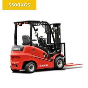 HC Forklifts A Series 4 Wheel 3500KG Electric Forklift Truck