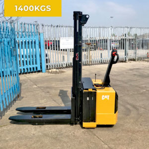 Caterpillar NS1400P 1400KG Electric Pedestrian Stacker