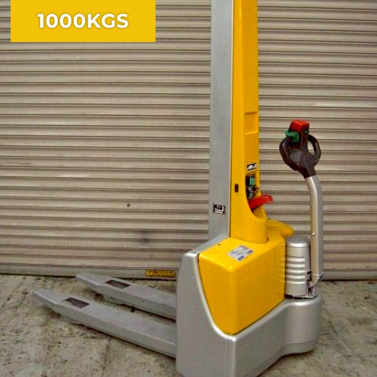 Jungheinrich EMC10 1000KG Electric Pedestrian Stacker