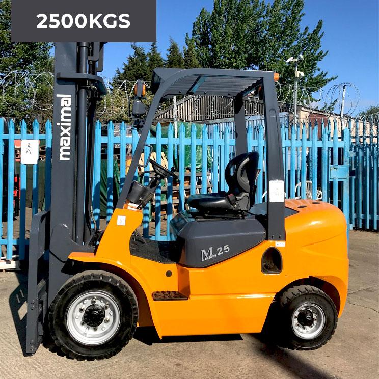 Maximal FD25T 4 Wheel 2500KG Diesel Forklift Truck