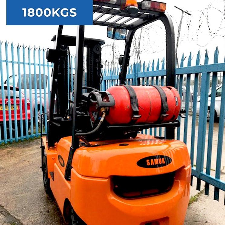 Samuk R18L 4 Wheel 1800KG LPG Forklift Truck