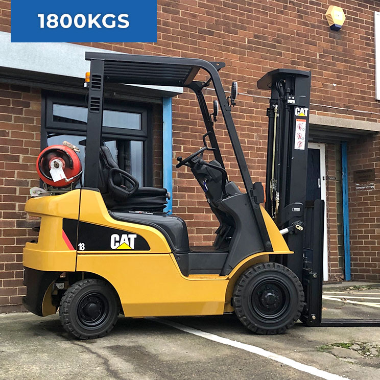 Caterpillar GP18NT 1800KG LPG Forklift Truck