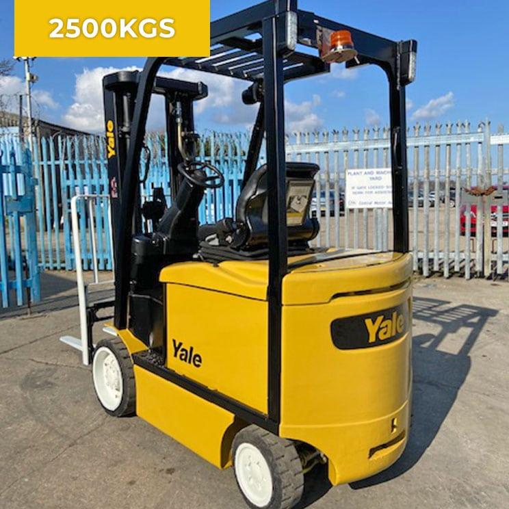 Yale ERC25VG 2500KG Electric Forklift Truck