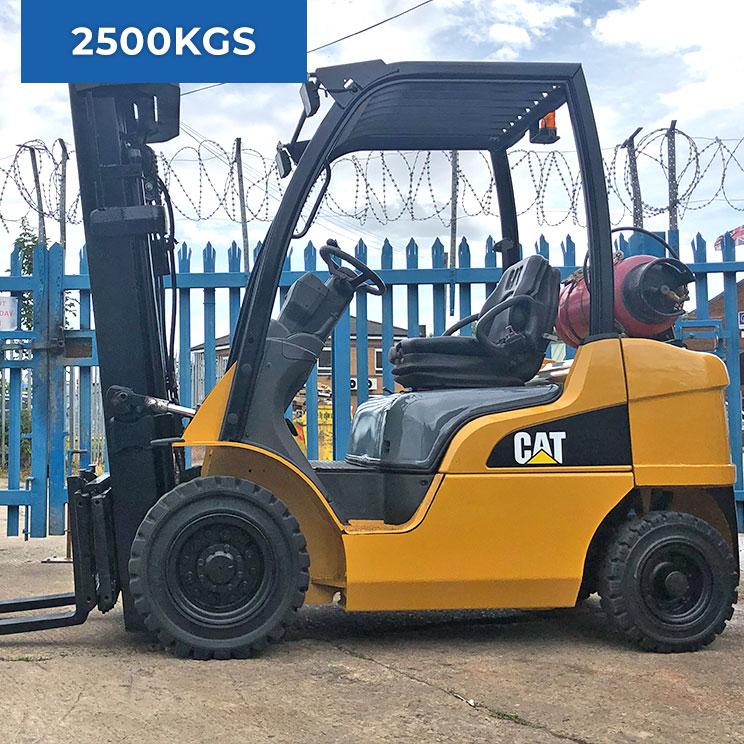 Caterpillar GP25N 2500KG LPG Forklift Truck
