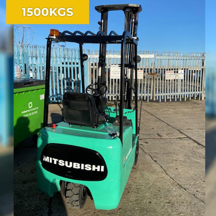 Mitsubishi FB15KRT Electric Forklift Truck