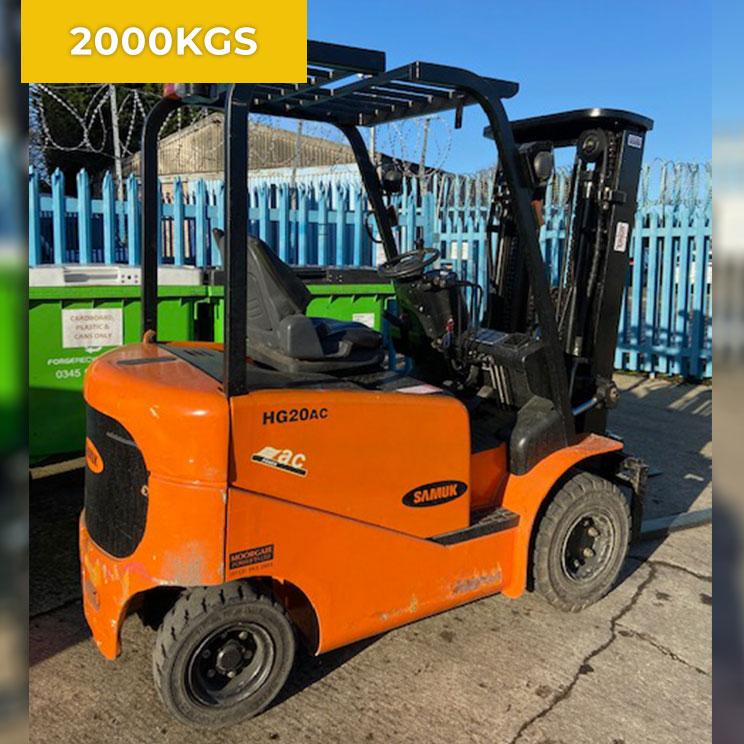 Samuk HG20AC Electric Forklift Truck