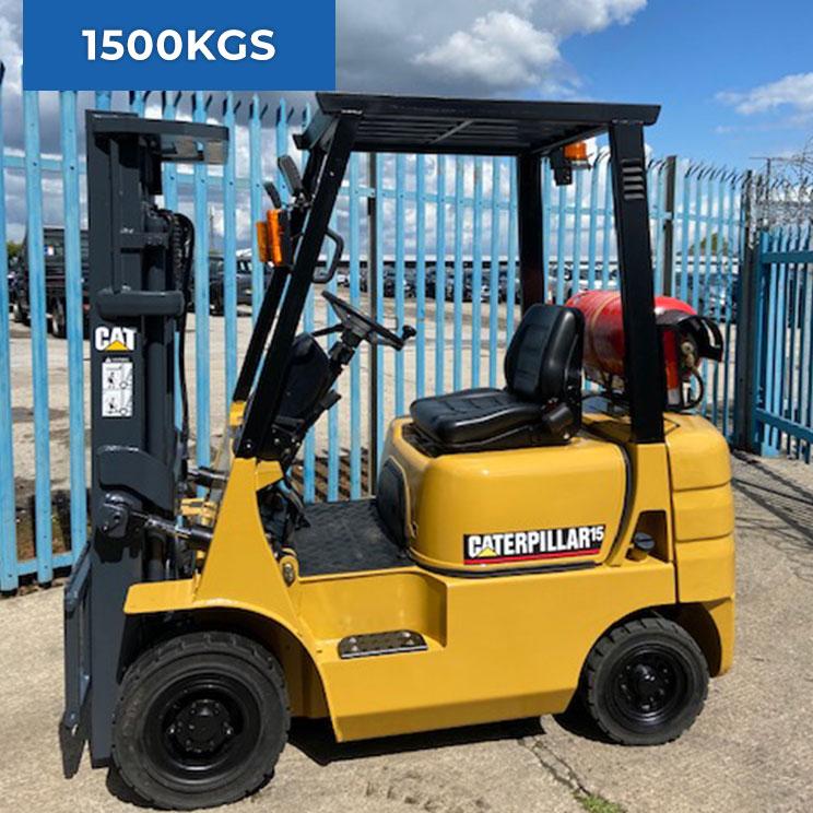 Caterpillar GP15T 1500KG LPG Forklift Truck