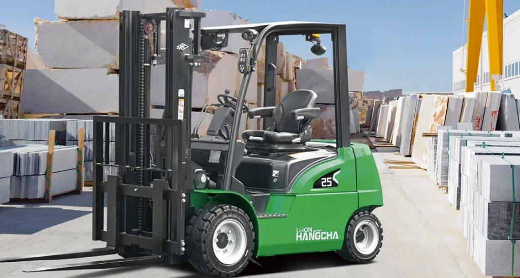 HC Lithium-ion 4-wheel Electric Forklift, 2.0 – 3.5t