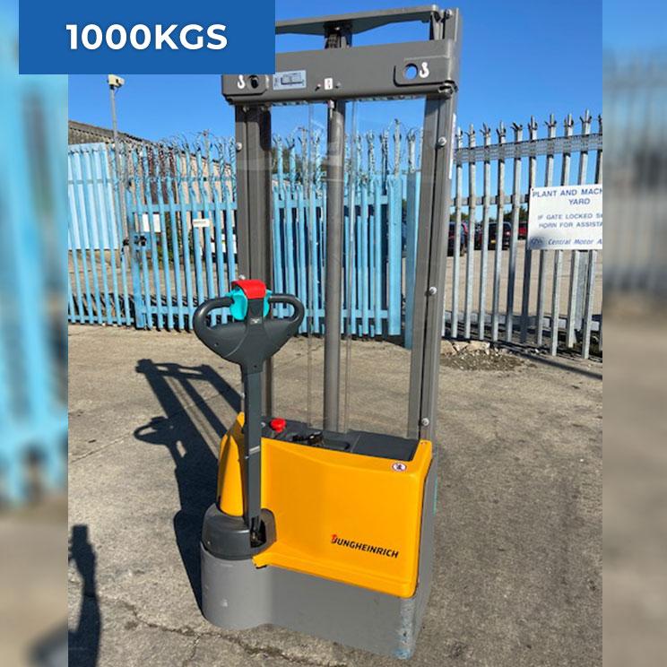 Jungheinrich EJC M10 1000KG Electric Forklift Truck